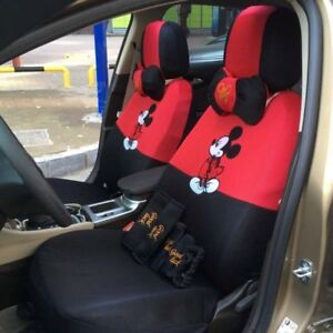 Image Is Loading New 17 Pcs Mickey Mouse Car Seat Cover
