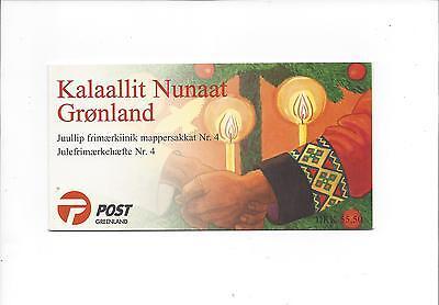 344-345 Postfr 42 Grönland Greenland Markenheftchen Mh M Minr M€ 22,00