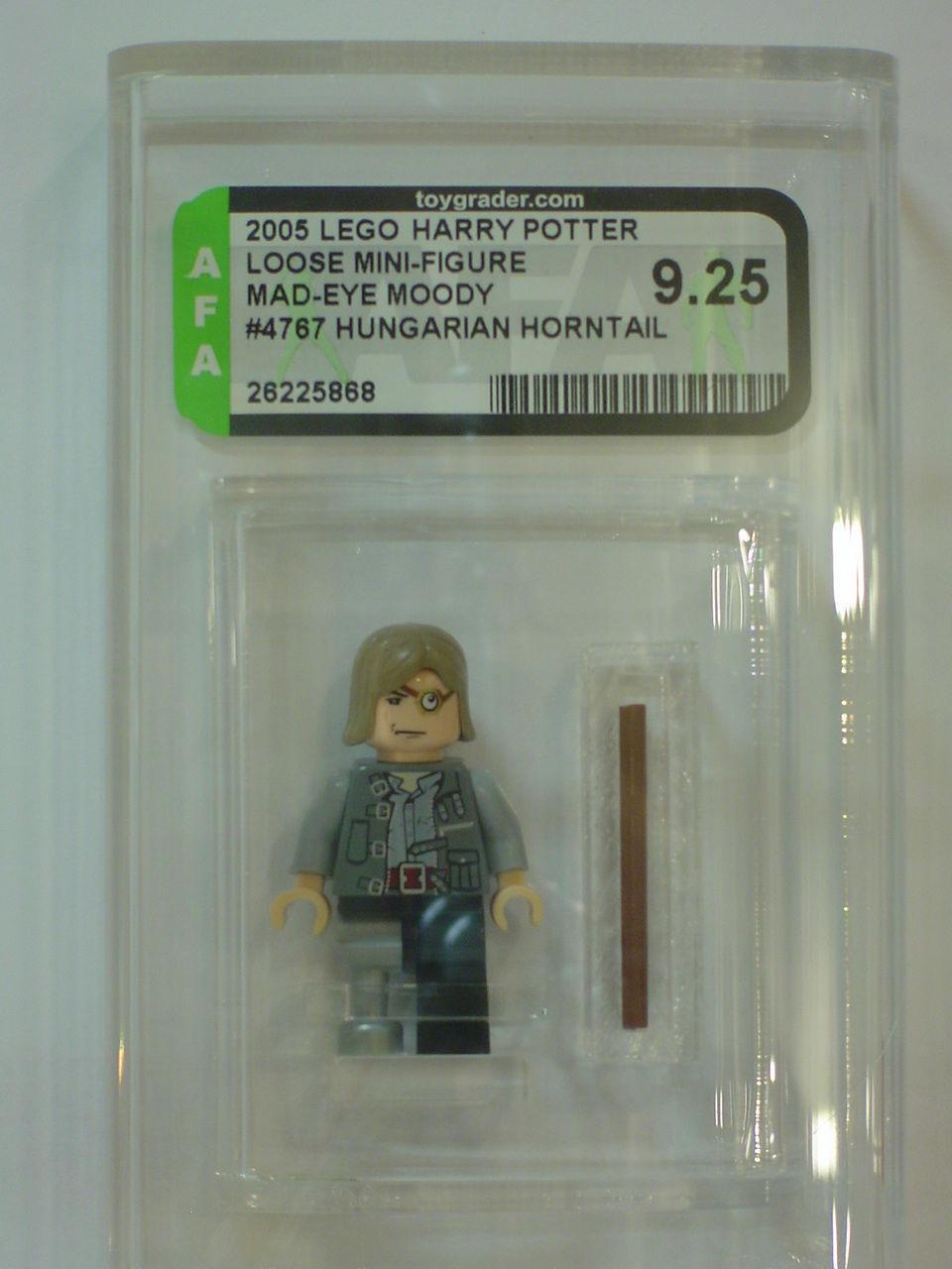 Lego 2005 Harry Potter Mad-Eye Moody Minifigure  GRADED AFA 9.25 - NEW
