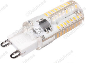 G9 LED BULB 4W- 64 SMD LED High Brightness 30W 40W Halogen Bulb ...