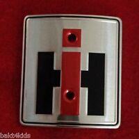 Ih Farmall Front Hood Emblem Super H, Hv, M, Mv, Mta, Wd9, 357650r1