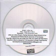 (N281) Little Joy, Keep Me In Mind - DJ CD