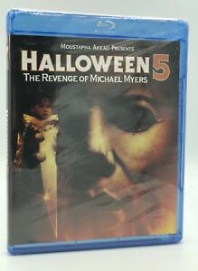Halloween 5 Blu Ray.Halloween 5 The Revenge Of Michael Myers Blu Ray Disc 2012 New