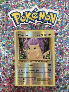 Pokemon-Nintendo-Pikachu-Holo-XY-Evolutions-set-card-2016