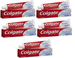 Colgate-Baking-Soda-amp-Peroxide-Whitening-Brisk-Mint-5-pack-8-2oz-232g-tubes