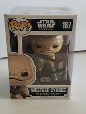 Weeteef Cyubee Toy Figure Rogue One Funko Pop Star Wars New