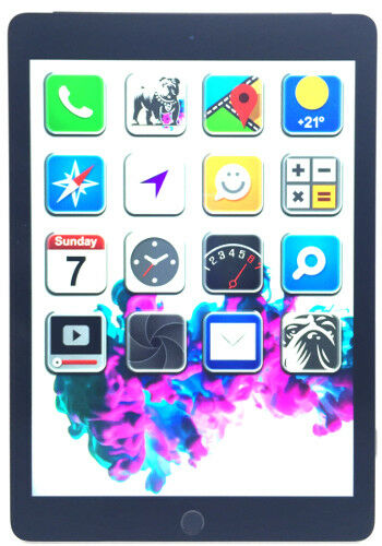 Apple iPad Air 2 64GB Grau *AUSLEUCHTUNG* Wi-Fi Tablet MGKL2FD/A (N40444)