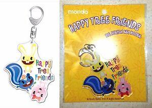 Happy Tree Friends Big Acrylic Key Chain Cuddles Petunia