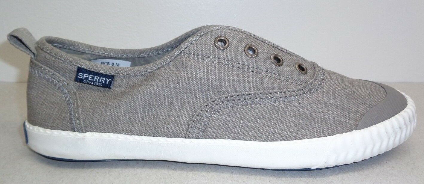 Sperry Size 8 CLEW M SAYEL CLEW On 8 STS80468 Gris Slip On CLEW Loafers New   040c06