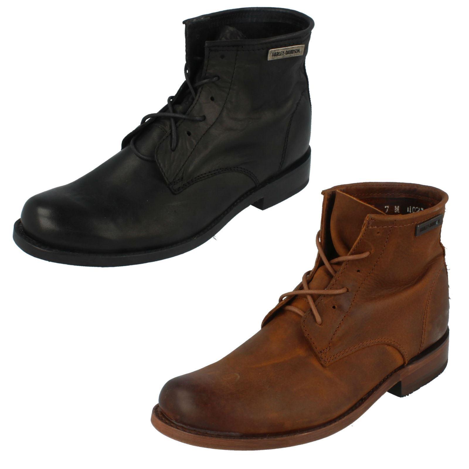 Men's Harley Davidson Ankle Boots - Tarrson