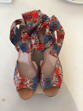 UGG AUSTRALIA  Wedge Sandals With Ankle Strap  SIZE UK 8.5 NEW