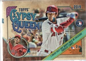 Details About 2019 Topps Gypsy Queen Baseball Mlb Cards Retail Blaster Box
