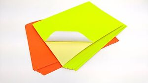 10 x a4 neon colour self adhesive sticky sticker craft labels