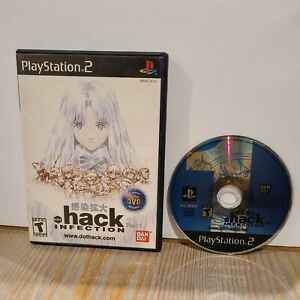 Dot Hack Infection Part 1 Black Label PS2 Playstation 2 Game BanDai