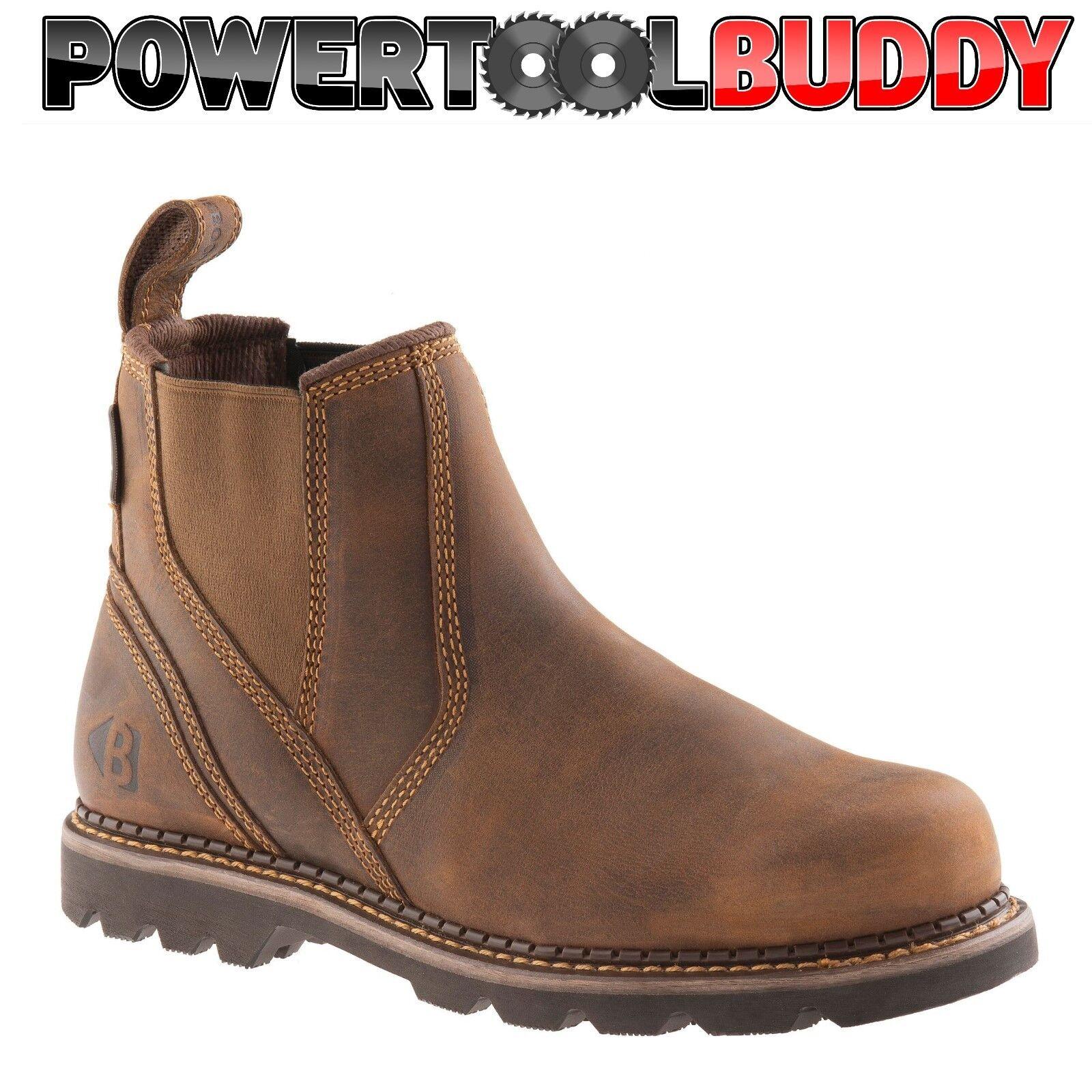 Buckler B1500 Buckflex Dark sz Marrón non-safety dealer botas sz Dark 6/40-13/47 K3 Sole cbe91d