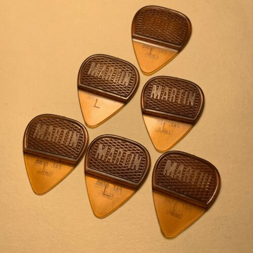 Original Vintage Martin Picks 6
