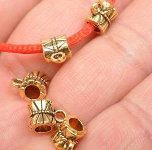 30pcs Tibetan Silver Connectors Spacer Bail necklace Charms bails 8x9mm B3049