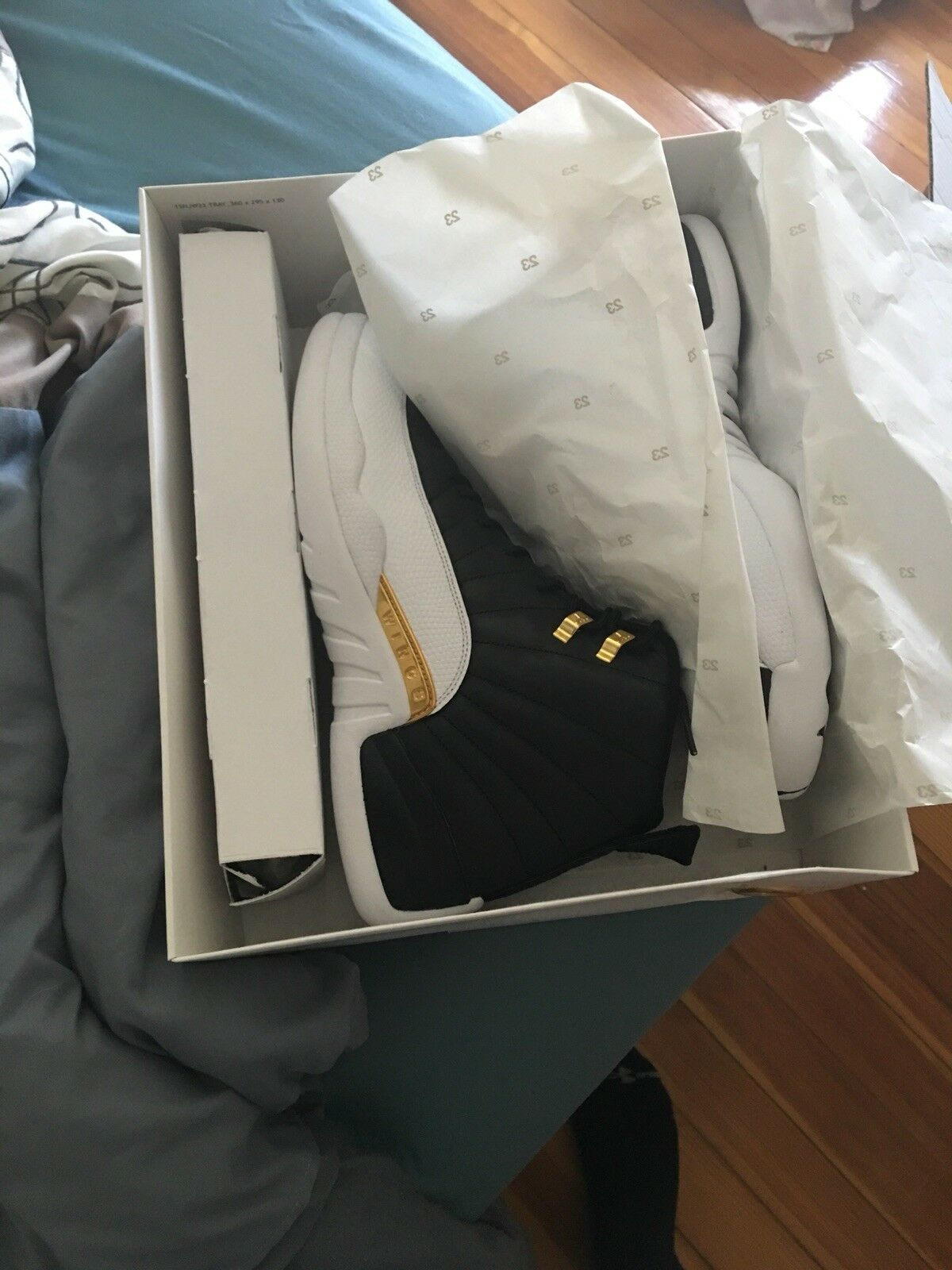 Jordan 12 wings size 12