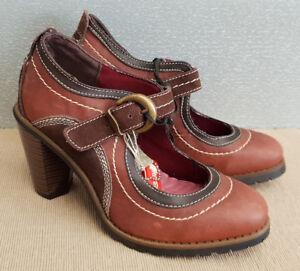 BNWT-Ladies-Sz-36-5-Rivers-Brand-Riversoft-Gorgeous-Brown-High-Heel-Sandals-Shoe