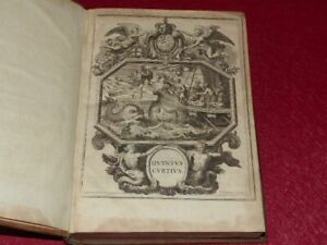 QUINTE-CURCE-DE-REBUS-GESTI-ALEXANDRI-MAGNI-1678-Rare-Le-Tellier-Pour-le-Dauphin