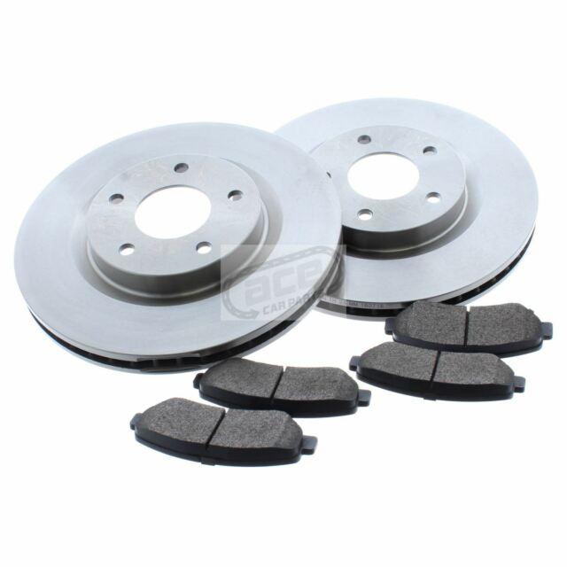 For Nissan Qashqai J10 2007-2014 1.5 1.6 2.0 Front Vented Brake Discs & Pads Set