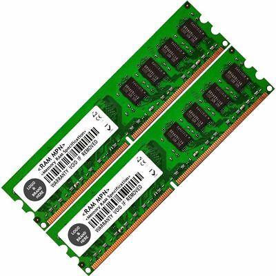 Memory Ram 4 Asus Motherboard Desktop P5GC-MX R3 P5GC-MX//1333 2x Lot DDR2 SDRAM