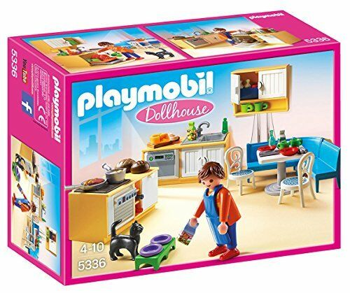 Playmobil Playmobil Playmobil Dollhouse Country Kitchen Set 5336 (for Kids 4 to 10) aec158