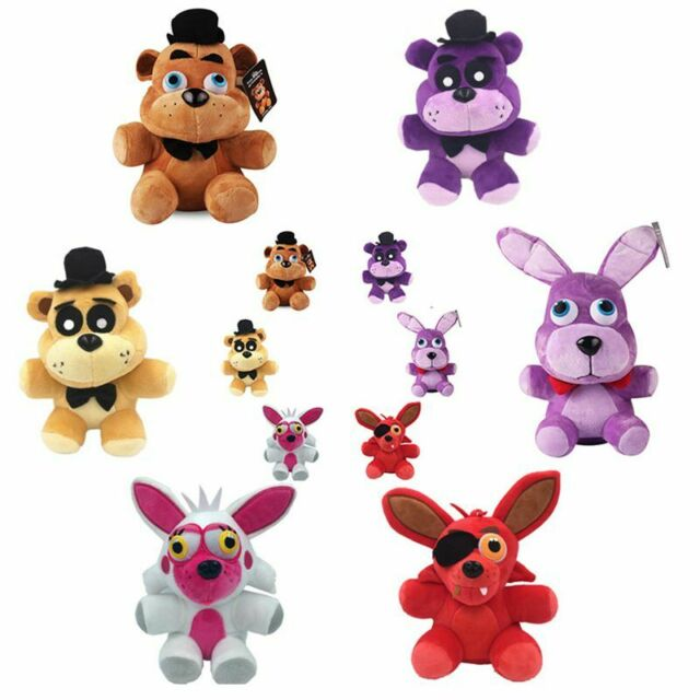 FNAF Five Nights At Freddy's Plushie Toy Plush Bear Foxy