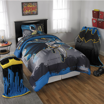 Batman Kid S Bedding Set Full Size Free Shipping Ebay