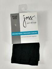 Sunny Socks Womens Queen Microfiber Opaque Links Patterned Trouser Knee High Socks 3 Pack