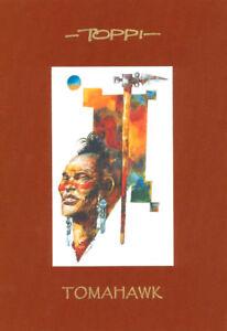 Sergio-Toppi-INDIANI-D-039-AMERICA-2-Portfolio-1-stampa