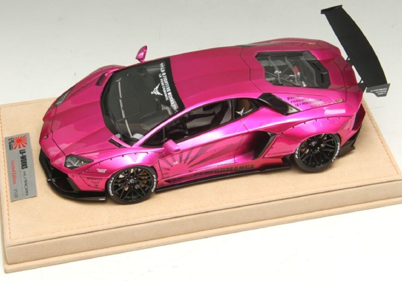 Lamborghini Aventador Lp700-4 Flash Rose Liberté Promener Performance par Lb