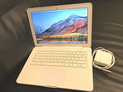 """Apple Macbook White 13"""" A1342 Computers/tablets & Networking 500gb Hdd 2.26 Ghz Latest Os X High Sierra 2017 Laptops & Netbooks"""