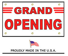 """New large Grand Opening Banner 48""""X96"""" outdoor/indoor heavy duty Free Shipping"""