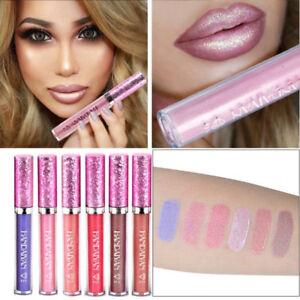 6-Colores-de-larga-duracion-Lapiz-labial-liquido-de-Terciopelo-Mate-Maquillaje-Brillo-de-labios