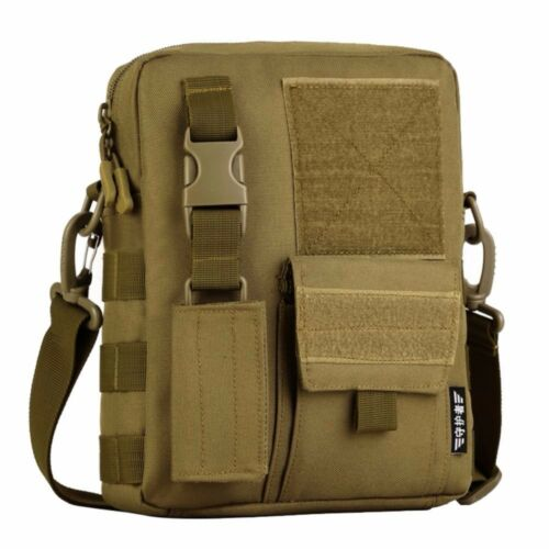 Military Men Nylon Messenger Shoulder Crossbody Travel Multi-Pocket Bag 6 Color