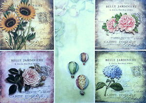 Sheet Craft Vintage Royal Ornament Rice Paper for Decoupage Scrapbooking
