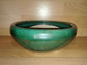 Maceta-verde-bonsai-fuente-para-plantar-redonda-cuenco-cup-pot-green-22-cm