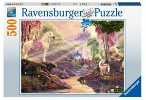 Ravensburger 500 piece jigsaw puzzle THE MAGIC RIVER
