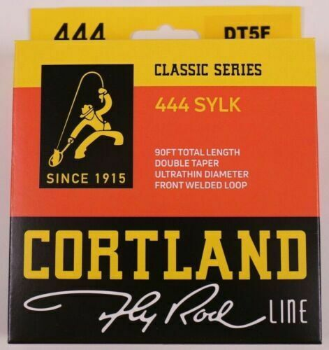 Cortland 444 Classic Sylk Fly Line DT3F FREE FAST SHIPPING
