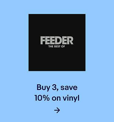Buy 3, save 10% on vinyl