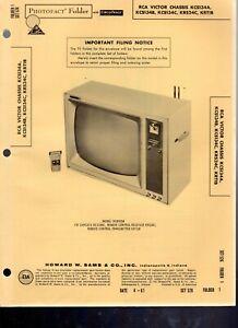 Sams-PhotoFact-RCA-Victor-TV-Chassis-KCS134A-KCS134B-KCS134C-KRS24C-KRT1B