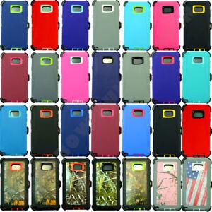 finest selection c18b6 632e2 Details about For Samsung Galaxy S6 Edge Plus Camo Case (Belt Clip fits  Otterbox Defender)