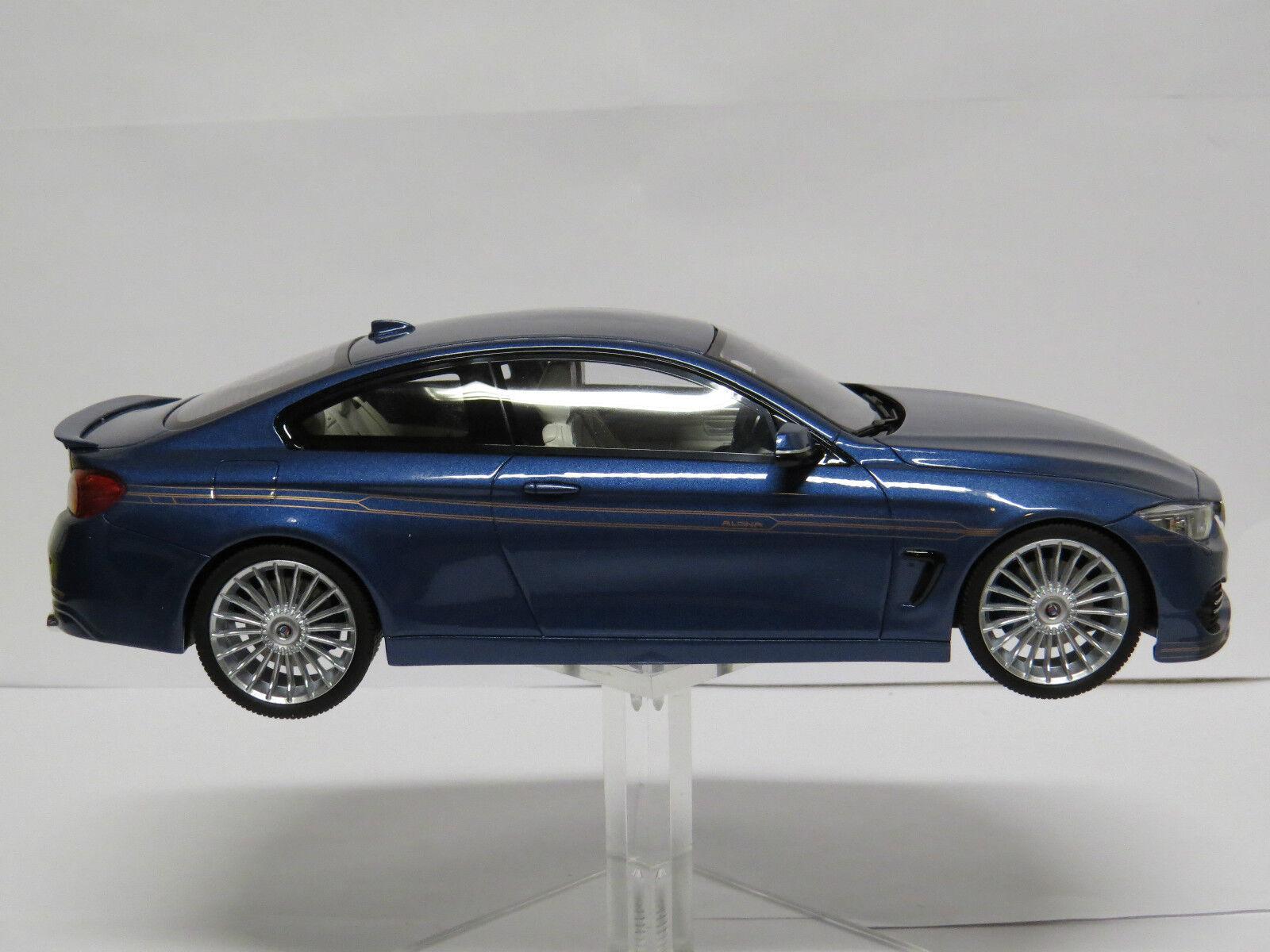 Venta al por mayor barato y de alta calidad. BMW BMW BMW alpine B4 Biturbo azul 1 18 GT090  precio mas barato
