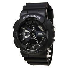 Casio GA110-1B Men's G-Shock Extra Large World Time Alarm Anti-Magnetic Watch
