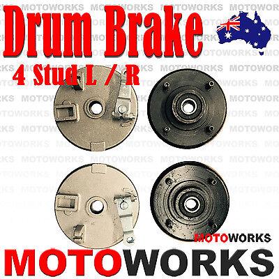 Shoes for 110cc 125cc Dirt Bikes ATV 3 Stud Drum Brake Housing Wheel Hub