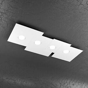 Plafoniere Moderne A Soffitto.Dettagli Su Plafoniera Moderna Rettangolare Lampadario Lampada Soffitto Design Moderno Sala