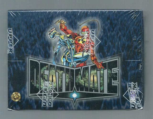 Deathmate Trading Card Box Upper Deck 1993