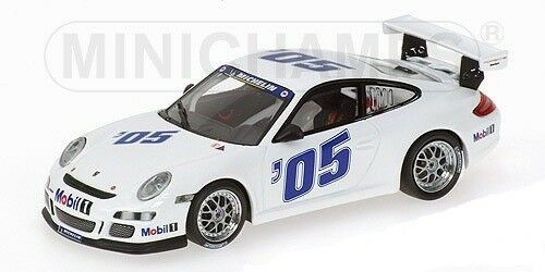 Minichamps Porsche 911 gt3 Cup – PRESENTATION 2005 – blanc L.E. 3024 PC. 1 43