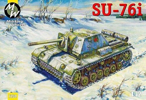 Military Wheels 1//72 Su-76i # 7254